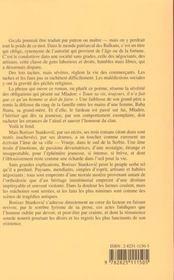 Gazda Mladen - 4ème de couverture - Format classique