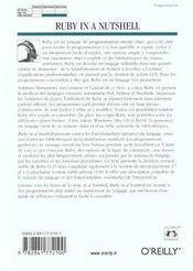Ruby In A Nutshell - 4ème de couverture - Format classique