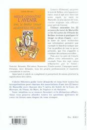 Mieux connaître l'avenir avec Marseille-Belline - 4ème de couverture - Format classique