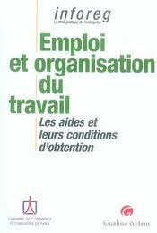 Emploi Et Organisation Du Travail - Intérieur - Format classique
