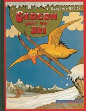 Gédéon fait du ski - Couverture - Format classique