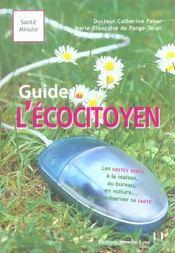 Guide de l'ecocitoyen - Intérieur - Format classique