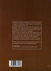 Le bâtard de Mauléon - 4ème de couverture - Format classique