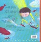 Ceci est un poème qui guérit les poissons - 4ème de couverture - Format classique