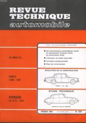 Revue Technique Automobile - N°250 - Couverture - Format classique
