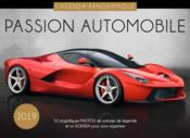 Vente  Agenda panoramique passion automobile (édition 2019)  - Collectif