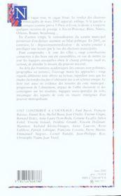 Le vote des villes ; les élections municipales des 11 et 18 Mars 2001 - 4ème de couverture - Format classique
