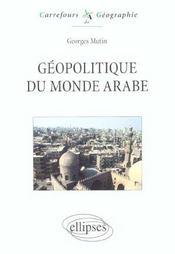 Geopolitique Du Monde Arabe - Intérieur - Format classique