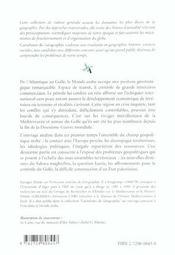 Geopolitique Du Monde Arabe - 4ème de couverture - Format classique