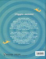 Egypte Ancienne (L') - 4ème de couverture - Format classique