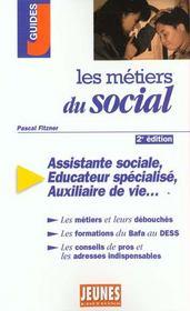 Metiers Du Social (Les) 2e Edition - Intérieur - Format classique