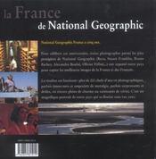 La France De National Geographic - 4ème de couverture - Format classique