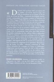 Rol-Tanguy - 4ème de couverture - Format classique