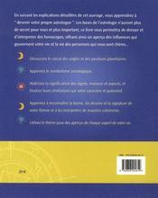 Devenir Propre Astrologue - 4ème de couverture - Format classique