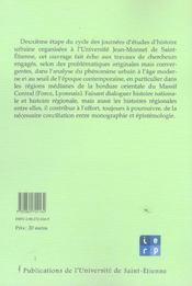 Images Et Pratiques De La Ville (Xvi -Xix Siecle) - 4ème de couverture - Format classique