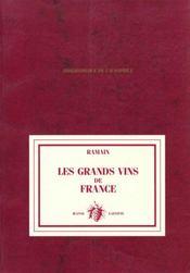 Les Grands Vins De France - Intérieur - Format classique