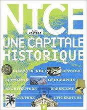Nice, une capitale historique - Couverture - Format classique