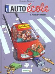 L'auto-école t.1; permis d'éconduire - Intérieur - Format classique