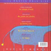5 Petits Geants Chatouillent Tes Oreilles - 4ème de couverture - Format classique