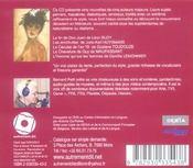 Les décadents - 4ème de couverture - Format classique