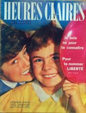 Heures Claires N°281 du 14/07/1962 - Couverture - Format classique