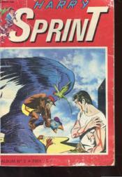 Harry Sprint - Album N° 2 Comprenant Les Trimestriels 4 Et 5 - Couverture - Format classique
