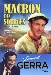 Vente  Macron des sources  - Laurent Gerra