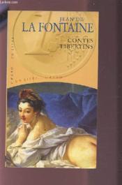 Contes libertins - Couverture - Format classique