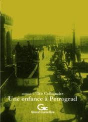Enfance à Pétrograd - Couverture - Format classique