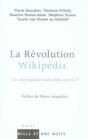 Révolution Wikipedia ; les encyclopédies vont-elles mourir ? - Intérieur - Format classique