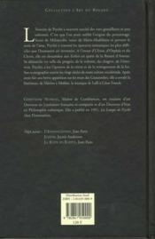 Psyche - 4ème de couverture - Format classique