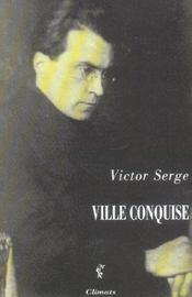 Ville Conquise - Intérieur - Format classique