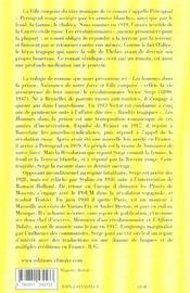 Ville Conquise - 4ème de couverture - Format classique