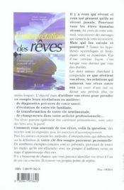 Interpretation Des Reves - 4ème de couverture - Format classique