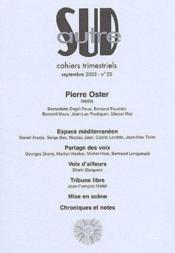 Revue Autre Sud T.22 ; Pierre Oster - Couverture - Format classique