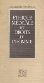 Ethique medicale et droits de l'homme - Couverture - Format classique