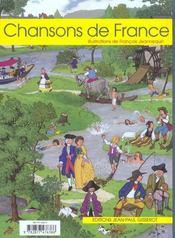 Chansons de france - 4ème de couverture - Format classique