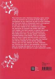 Sylvie Vartan - 4ème de couverture - Format classique