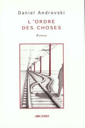 Ordre Des Choses (L') - Intérieur - Format classique