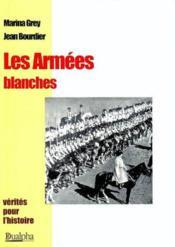 Les armees blanches - Couverture - Format classique