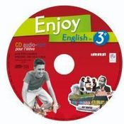 Vente livre :  ENJOY ENGLISH IN ; 3ème ; CD audio-rom de remplacement  - Odile Martin-Cocher