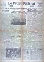 Petit Parisien (Le) N°24375 du 26/05/1944 - Couverture - Format classique
