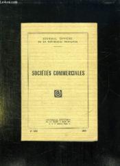 Journaux Officiel N° 1308. 1969. Societe Commerciales. - Couverture - Format classique