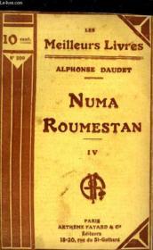 Numa Roumestan - Tome 4 - Couverture - Format classique