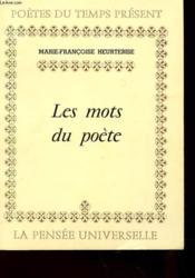 Les Mots Du Poete - Couverture - Format classique