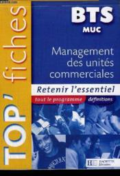 MANAGEMENT DES UNITES COMMERCIALES  - Larue - Colombari - Besson
