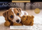 Vente  Agenda panoramique adorables chiots (édition 2019)  - Collectif