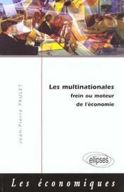 Les Multinationales Frein Ou Moteur De L'Economie - Intérieur - Format classique