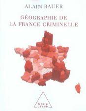 Geographie De La France Criminelle - Intérieur - Format classique