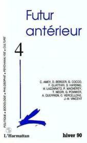 Futur Anterieur T.4 - Couverture - Format classique